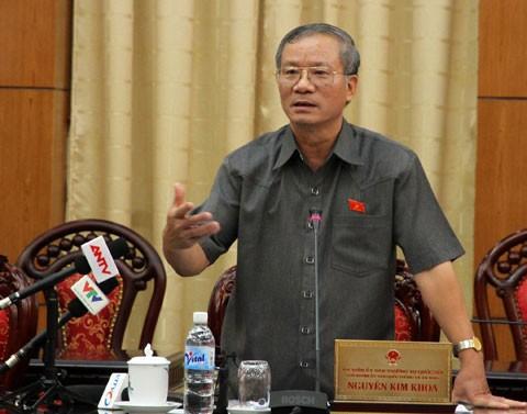 越南国会科技委员会举行质询会议 - ảnh 1