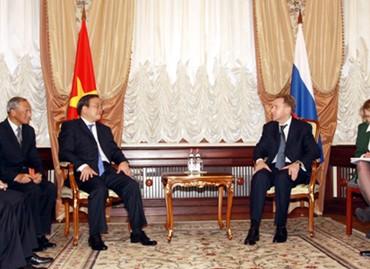 越俄签署多项合作协定 - ảnh 1