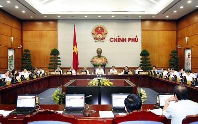 越南政府举行10月份工作例会 - ảnh 1