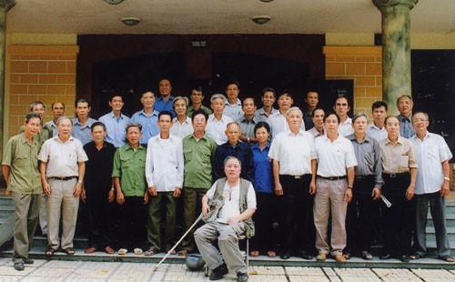 263英雄解放军团举行见面会 - ảnh 1