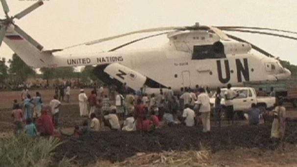 南苏丹击落一架联合国直升机 - ảnh 1