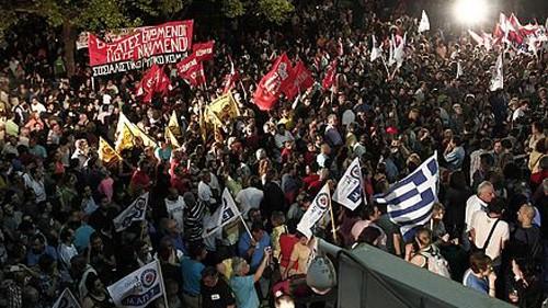 希腊面临新的政治危机 - ảnh 1