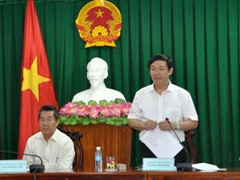 越共中央经济部与西原地区指导委员会举行工作会议 - ảnh 1