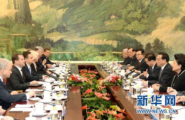 中国与俄罗斯签署21项双边合作文件 - ảnh 1