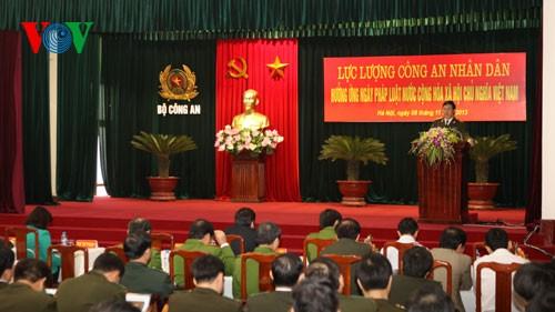 越南举行11·09法律日启动仪式 - ảnh 1