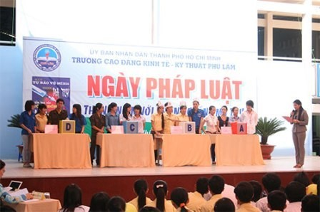 越南举行法律日公布仪式 - ảnh 1