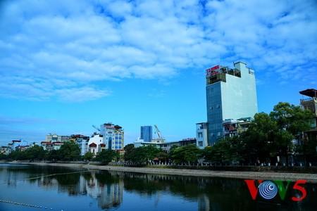 台风过后的河内蓝天 - ảnh 2