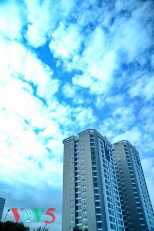 台风过后的河内蓝天 - ảnh 7