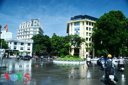 台风过后的河内蓝天 - ảnh 10