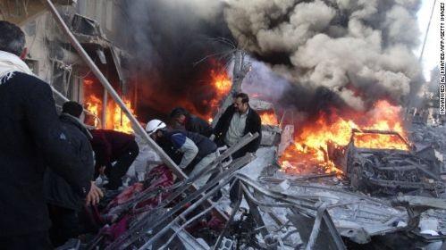 叙利亚阿勒颇发生激烈交火导致85人死亡 - ảnh 1