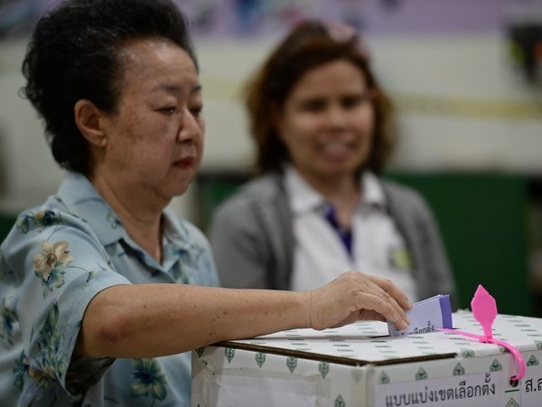 泰部分府份再次举行议会选举  - ảnh 1