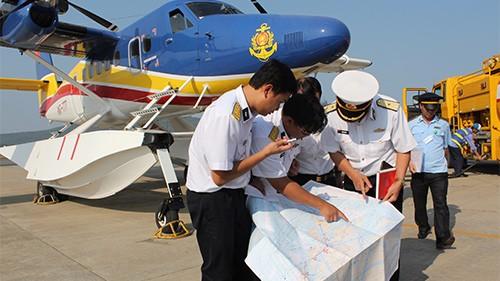 越南积极参加马来西亚航空失联客机搜寻工作 - ảnh 1