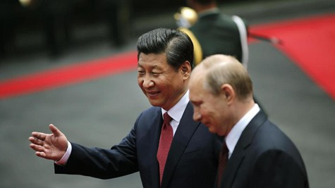 普京访问中国 - ảnh 1