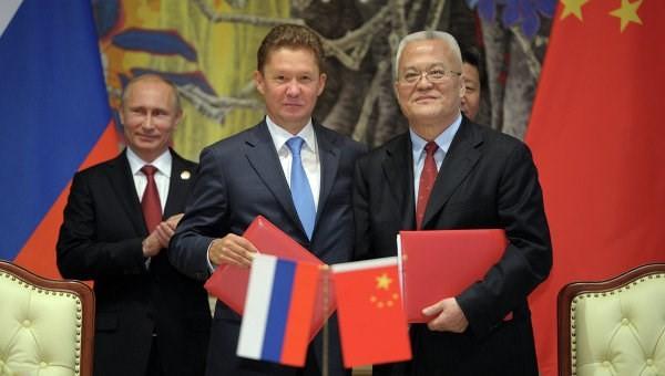 中国与俄罗斯签署天然气供应协议 - ảnh 1