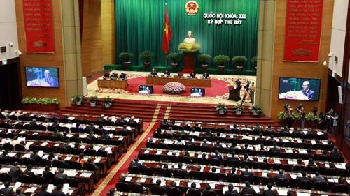 越南国会讨论《住房法修正案(草案)》和《房地产经营法修正案(草案)》 - ảnh 1