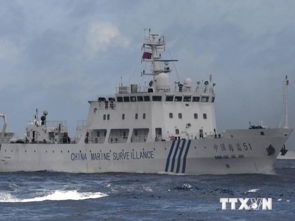 中国船只再次进入中日主权争议海域 - ảnh 1