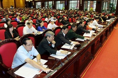 越南十三届国会七次会议闭幕   发表公报反对中国的错误行为 - ảnh 1