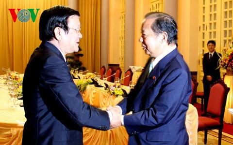 张晋创会见日本国会下议院预算委员会主席 - ảnh 1