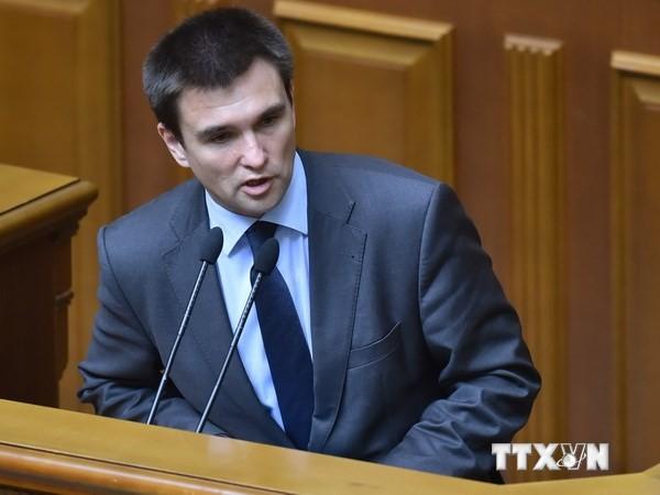 乌克兰外长:应恢复乌克兰与俄罗斯互信 - ảnh 1