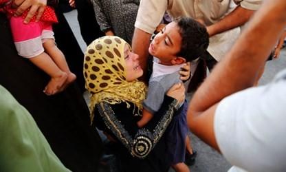 加沙联合国学校遭以色列空袭 - ảnh 1