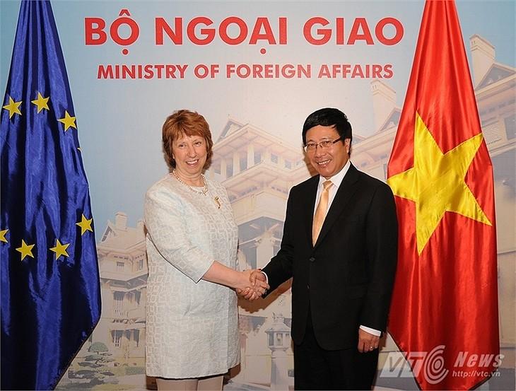 越南-欧盟将按进度早日完成《越欧自贸协定》谈判 - ảnh 1