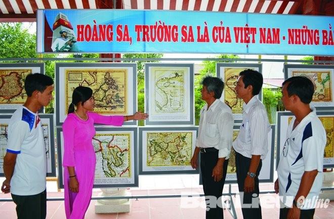"""芹苴市:""""越南在东海和黄沙、长沙群岛的主权""""专题展开幕 - ảnh 1"""