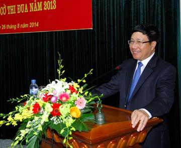 越南外交部门坚定维护国家及民族利益 - ảnh 1