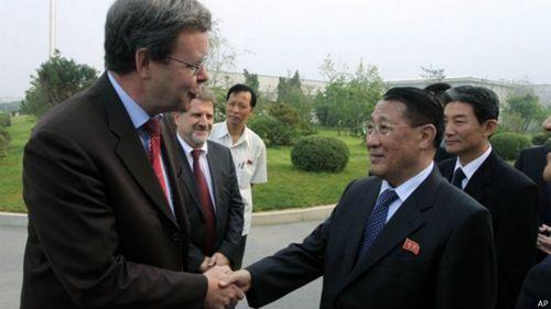 朝鲜在欧洲寻找新伙伴 - ảnh 1