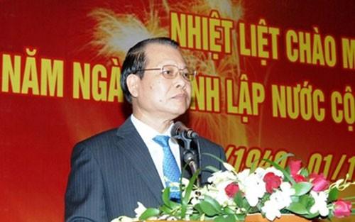 中国驻越大使馆举行国庆六十五周年招待会 - ảnh 1