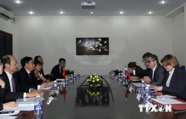 第7次越俄外交国防安全年度战略对话举行 - ảnh 1
