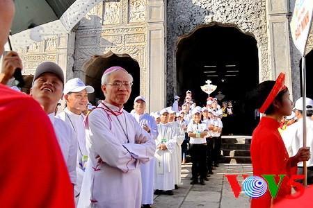 天主教河内总教区青年教徒大会隆重举行 - ảnh 14