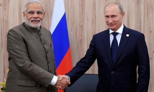 俄罗斯总统开始对印度进行正式访问 - ảnh 1