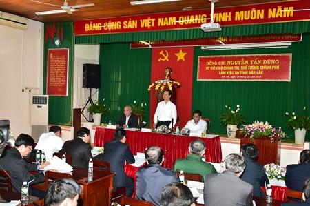 阮晋勇总理:中央政府将与多乐省一道确保少数民族同胞稳定生活 - ảnh 1