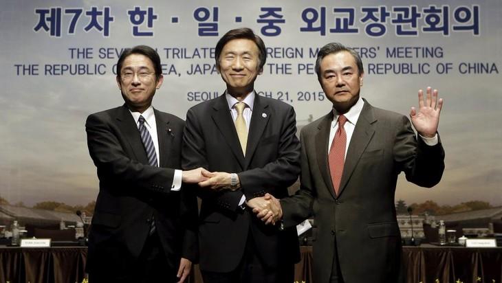 中日韩同意尽快举行三国领导人会议 - ảnh 1