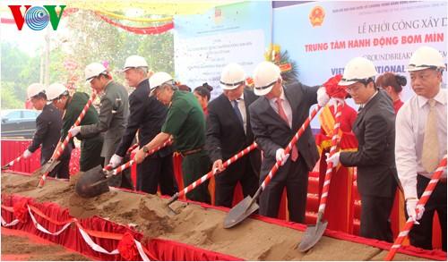 越南国家地雷行动中心动工修建 - ảnh 1