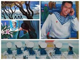 海洋岛屿和海军战士美术展开幕 - ảnh 1