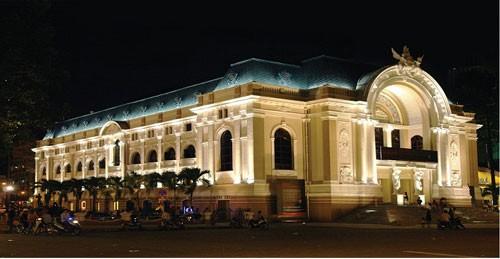 胡市的象征之一——胡志明市大剧院 - ảnh 3