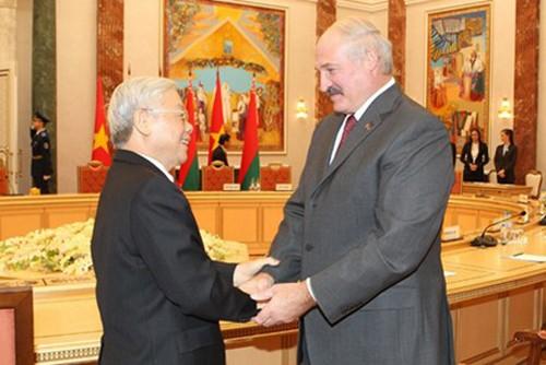 白俄罗斯批准欧亚经济联盟与越南自由贸易协定草案 - ảnh 1