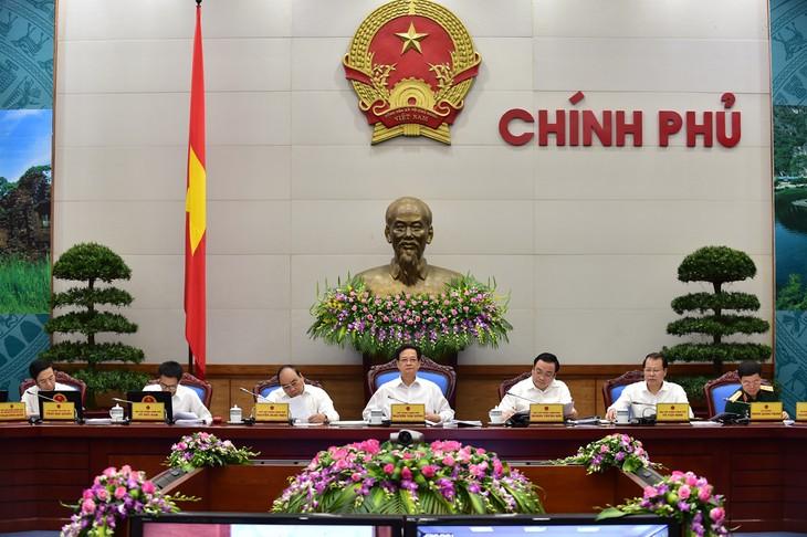 越南政府6月工作例会继续进行 - ảnh 1