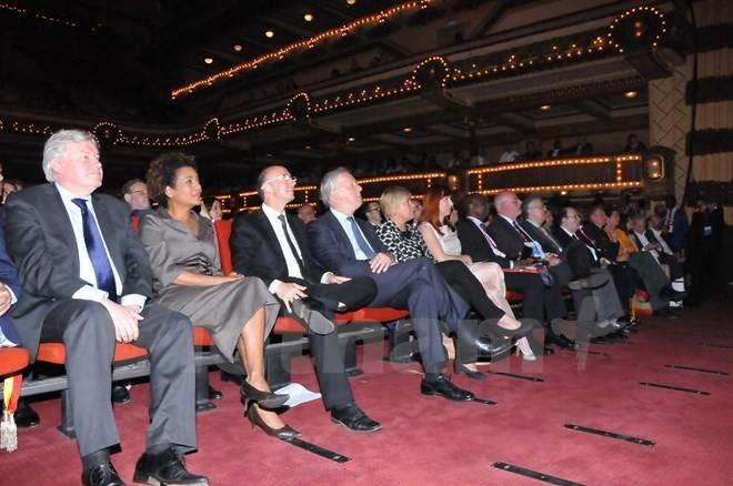 越南出席在比利时举行的第二届世界法语论坛 - ảnh 1