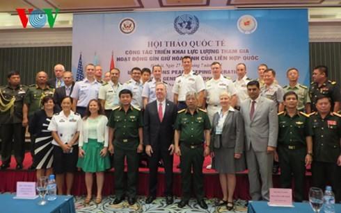 越南有责任参加联合国维和行动 - ảnh 1