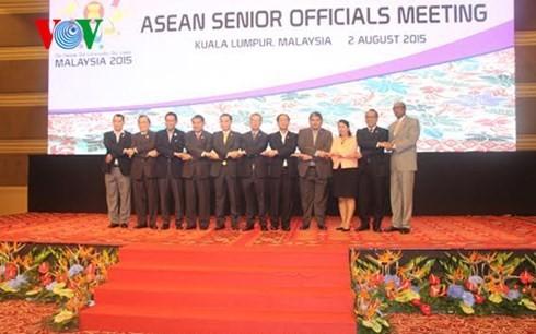 东盟与中日韩高官会和东亚高官会在马来西亚举行 - ảnh 1