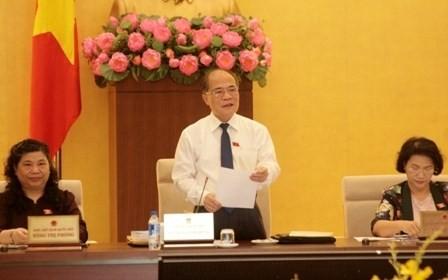 越南国会常务委员会第40次会议开幕 - ảnh 1