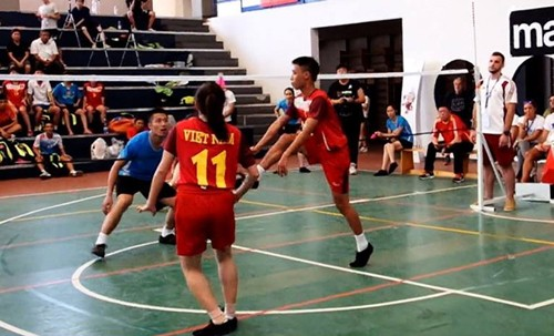 越南在世界毽球锦标赛上夺得两枚金牌 - ảnh 1