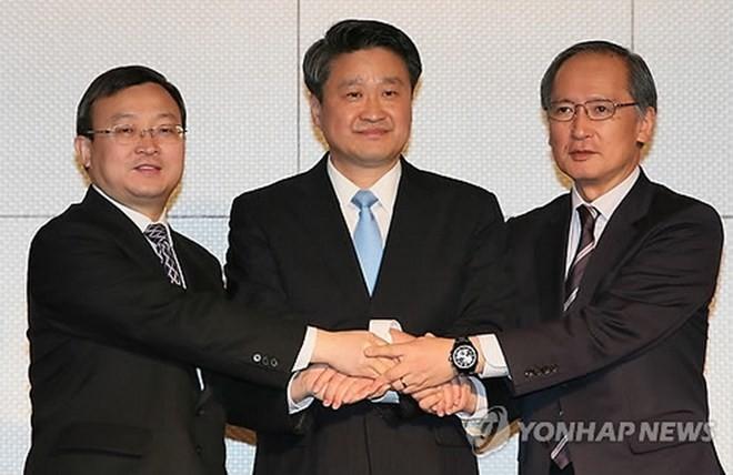 中日韩自贸协定第八轮谈判在北京举行 - ảnh 1