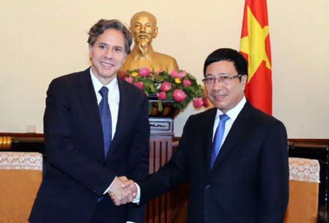 越南与美国为了两国利益加强对话 - ảnh 1