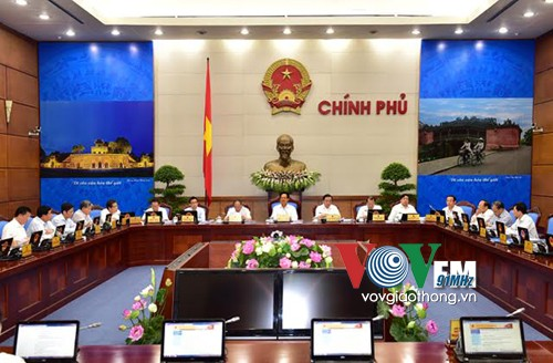 越南政府举行九月工作例会 - ảnh 1
