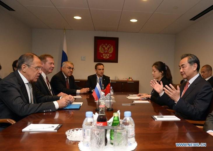 俄罗斯和中国承诺在国际问题上合作 - ảnh 1