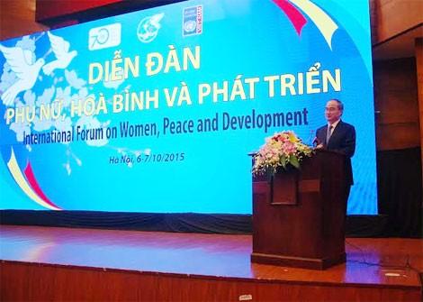 越南妇女的社会地位日益得到肯定和提高 - ảnh 1