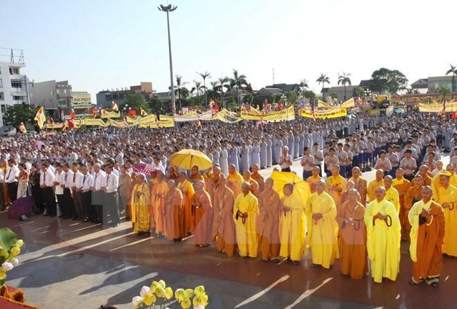 越南与欧盟分享保障宗教信仰自由权的国际经验 - ảnh 1